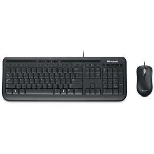 MICROSOFT USB Wired Desktop 600 Keyboard and Optical Mouse